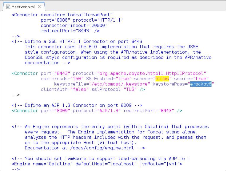 Konfigurace HTTPS