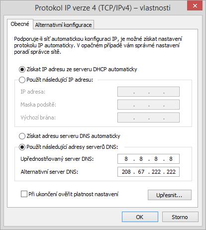 Vlastnosti IPv4 protokolu