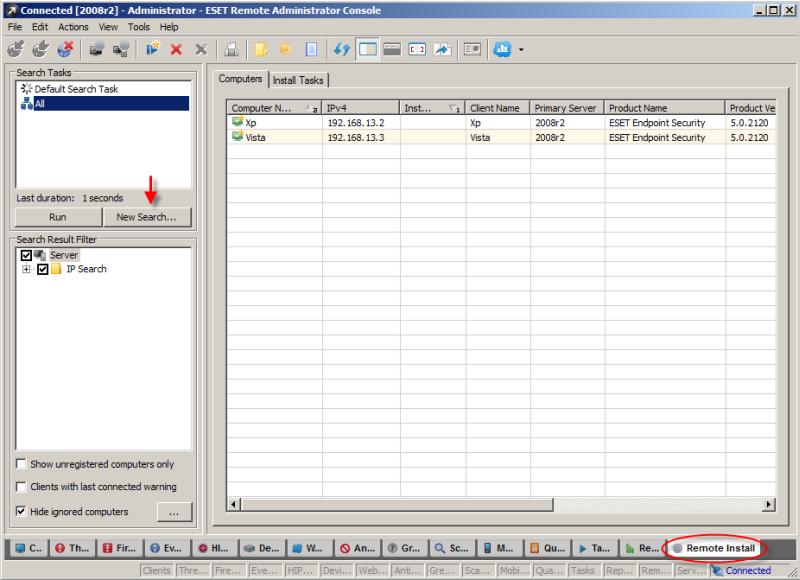 ESET Remote Administrator Console