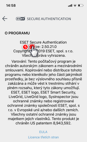 ESET Secure Authentication - O programu