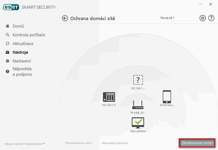 Jak spustit kontrolu domácího routeru
