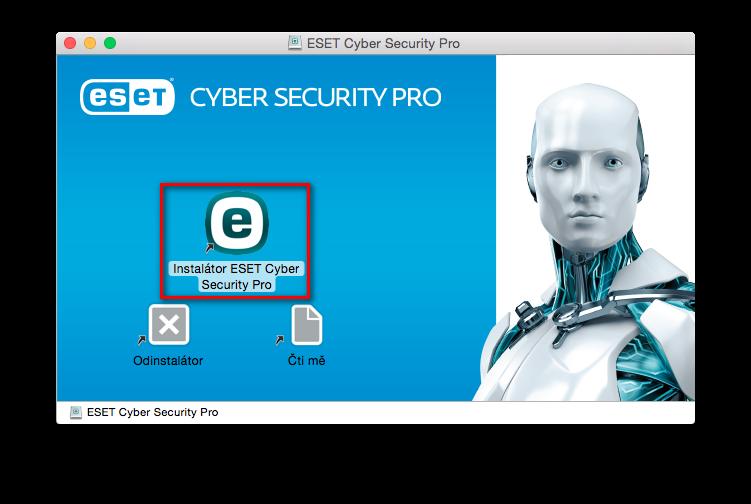 Instalátor ESET Cyber Security Pro