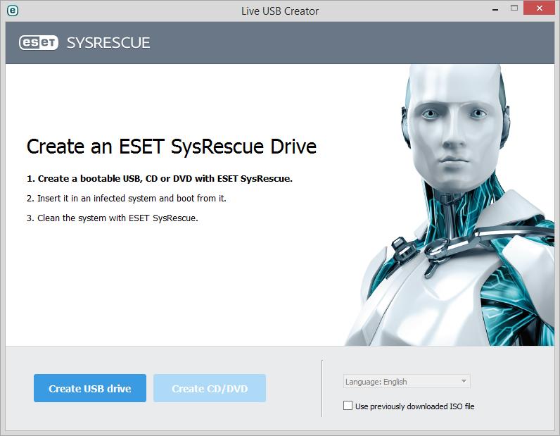 ESET Live USB Creator