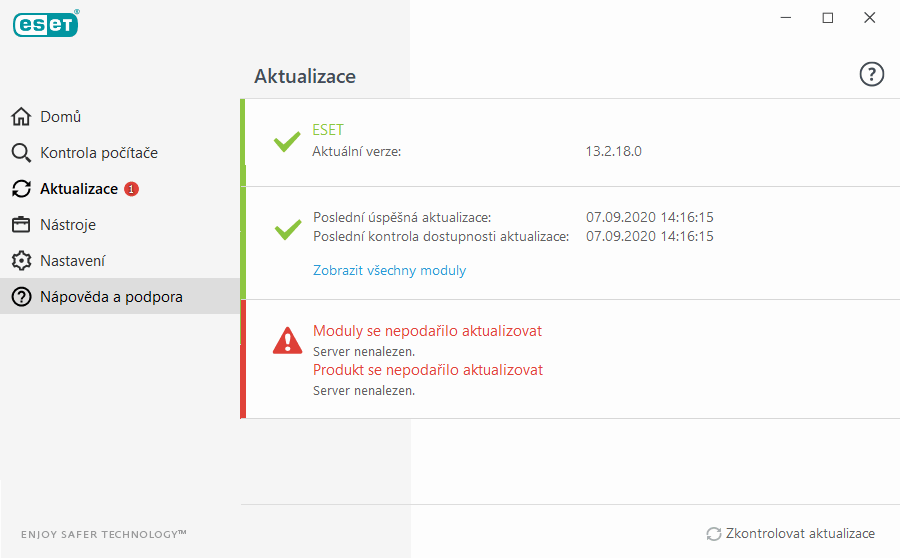 ESET Smart Security 9 - nedokumentovaná závažná chyba
